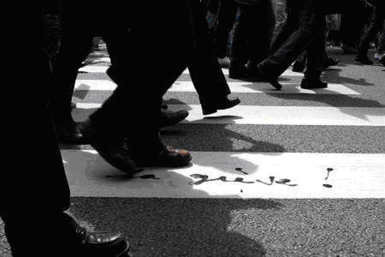 Marche ou grève...